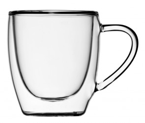 Набор чашек 2 шт. c двойными стенками  80 мл